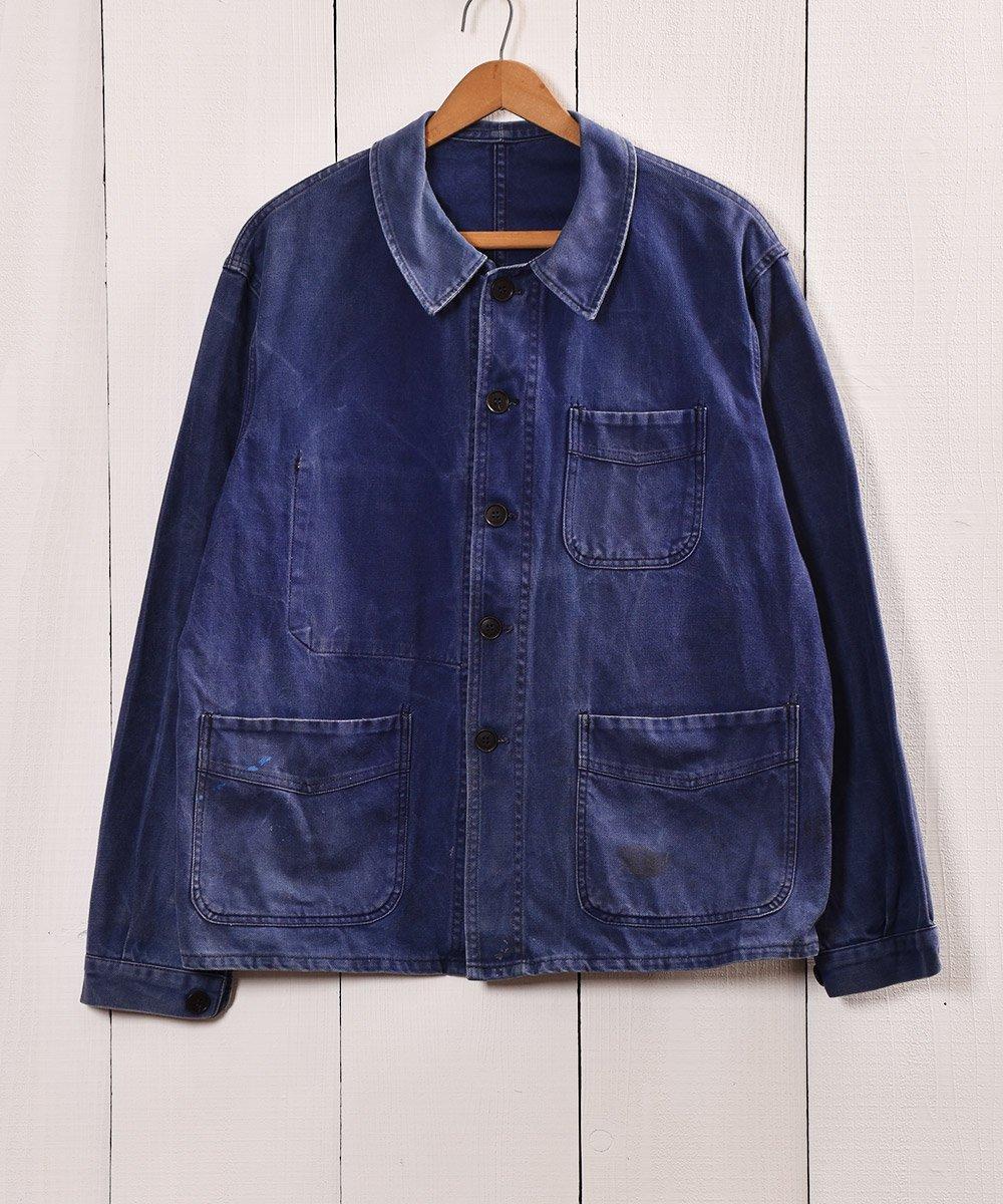 古着 50年代〜 Adolphe Lafont ワークジャケット カバーオール フランス製 古着 ネット 通販 古着屋グレープフルーツムーン