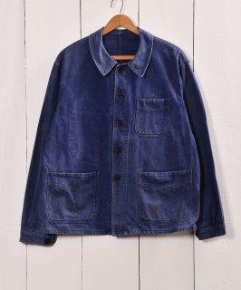 古着50年代〜 Adolphe Lafont ワークジャケット カバーオール フランス製 古着のネット通販 古着屋グレープフルーツムーン