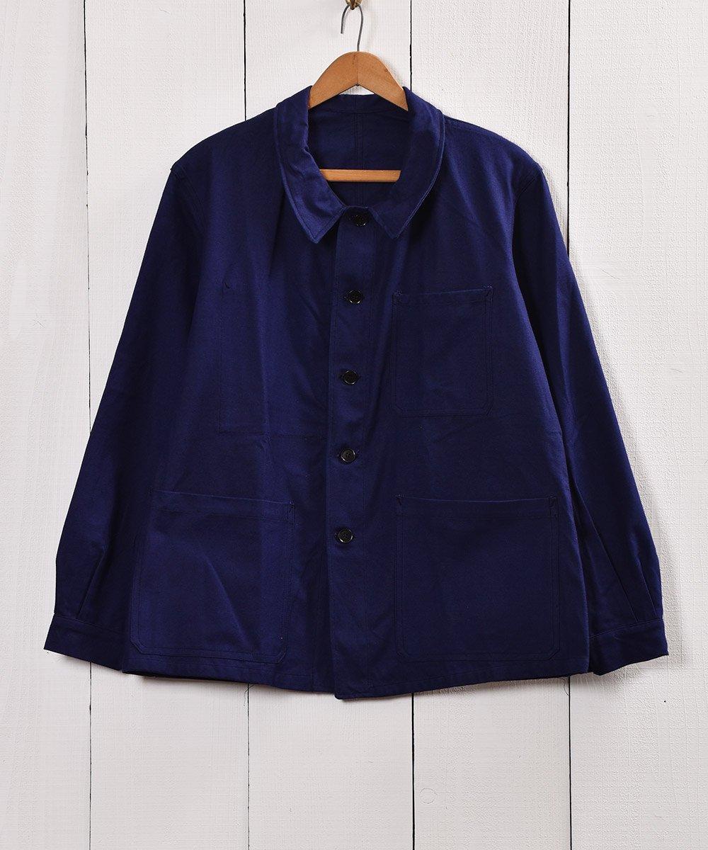 古着 60年代〜 フランス製 ワークジャケット カバーオール 古着 ネット 通販 古着屋グレープフルーツムーン