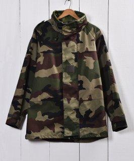 古着フランス軍 ウッドランドカモ ゴアテックスパーカー  古着のネット通販 古着屋グレープフルーツムーン