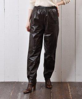 古着ウエストゴム レザー パンツ 古着のネット通販 古着屋グレープフルーツムーン