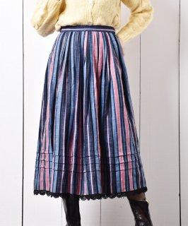 古着 ヨーロッパ製 チロルスカート ベリーカラー 古着のネット通販 古着屋グレープフルーツムーン