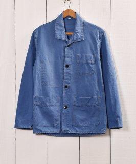古着フランス製 ワークジャケット コットンツイル 古着のネット通販 古着屋グレープフルーツムーン