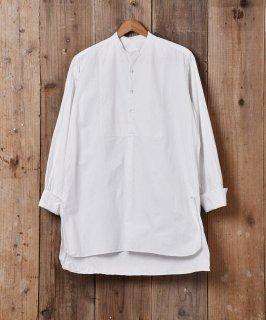 古着フランス製 ヴィンテージコットンシャツ シェルボタン 古着のネット通販 古着屋グレープフルーツムーン