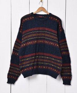 古着アイルランド製 フェアアイルセーター 古着のネット通販 古着屋グレープフルーツムーン