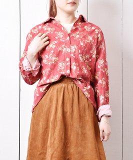 古着L.L.Bean フラワープリント シャツ  古着のネット通販 古着屋グレープフルーツムーン