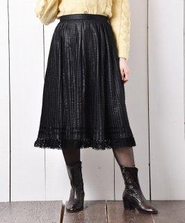 古着チロル ロング プリーツスカート 古着のネット通販 古着屋グレープフルーツムーン