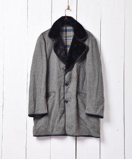古着「Dunn & CO」カシミア混ウールコート 古着のネット通販 古着屋グレープフルーツムーン