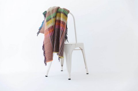WOOL<br>BASKET THROW<br>-SMALL<br><PORTLAND>