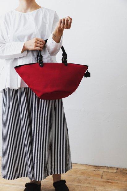 ZANZIBAR bag<br>.XS.cotton ZIPPE<br><PIMENT>
