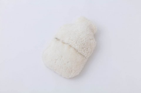 HOT WATER<br>BOTTLE COVER<br>UK DOMESTIC<br><IVORY>