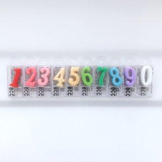 [追加分]ナンバーキャンドル