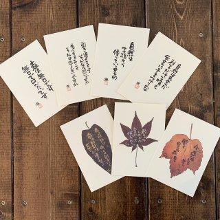 ポストカード「倉本聰からの継言」*7枚セット【ゆうパケット可】