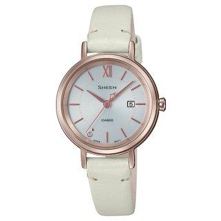 カシオ SHEEN SHS-D300CGL-7AJF スワロフスキークリスタル1P シーン ソーラー時計 レディース腕時計