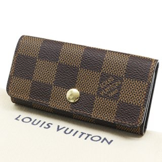 LOUIS VUITTON ルイヴィトン N60385 ミュルティクレ4 ダミエ エベヌ 4連キーケース