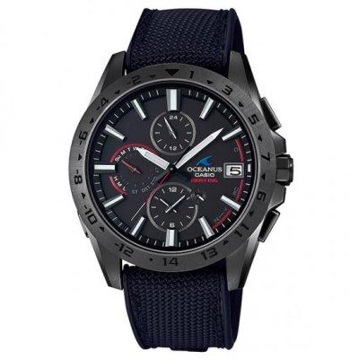 カシオ OCEANUS OCW-T3000BRE-1AJR BRIEFINGコラボモデル Bluetooth搭載電波ソーラー オシアナス メンズ腕時計