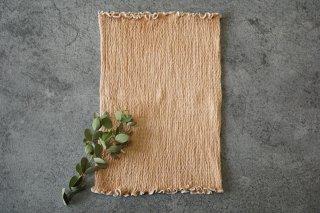 野草染め「ぽかぽか」絹の腹巻