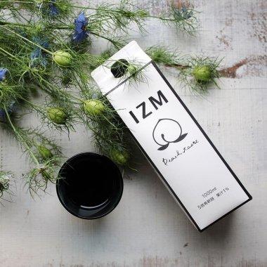 酵素ドリンク「IZM」ピーチテイスト 発酵エキス ファスティング 1000ml  瀬戸内〜世界へ。愛情込めて育てた75種類の瀬戸内産素材を3年半発酵させた酵素ドリンク!