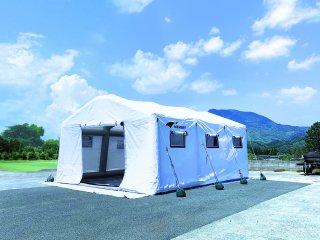 メンブリーシェルターair 医療用仮設テント Lサイズ