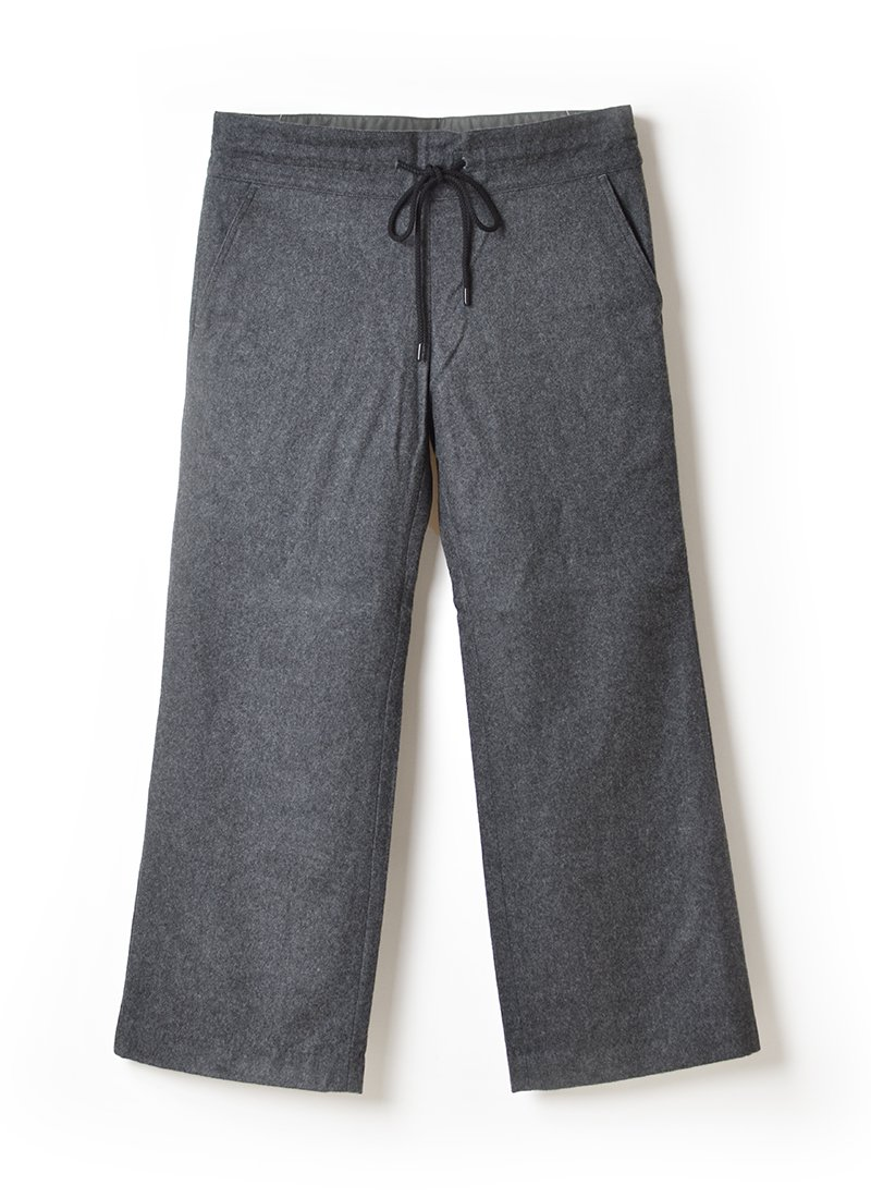 MEYAME Wool Relax Pants