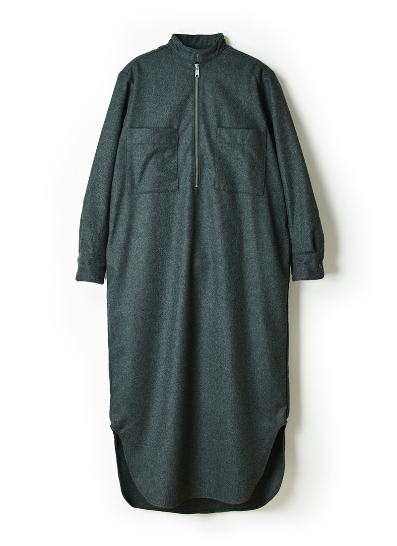 MEYAME Wool Zip Dress
