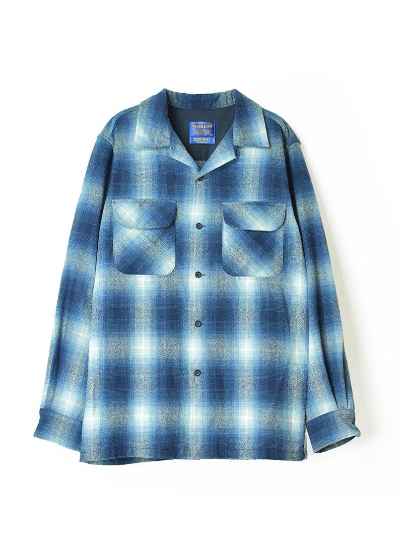 USED PENDLETON Box Wool Shirt