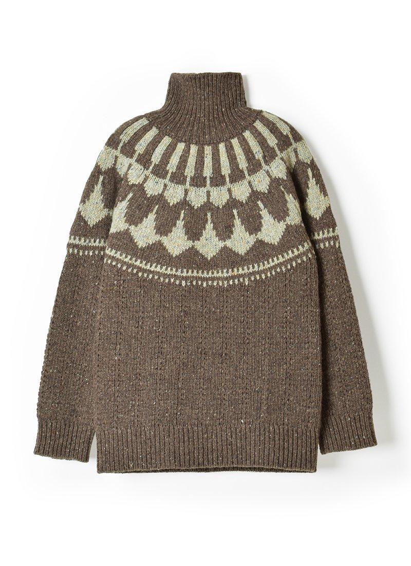 ARCHI Parva Knit Turtle Top