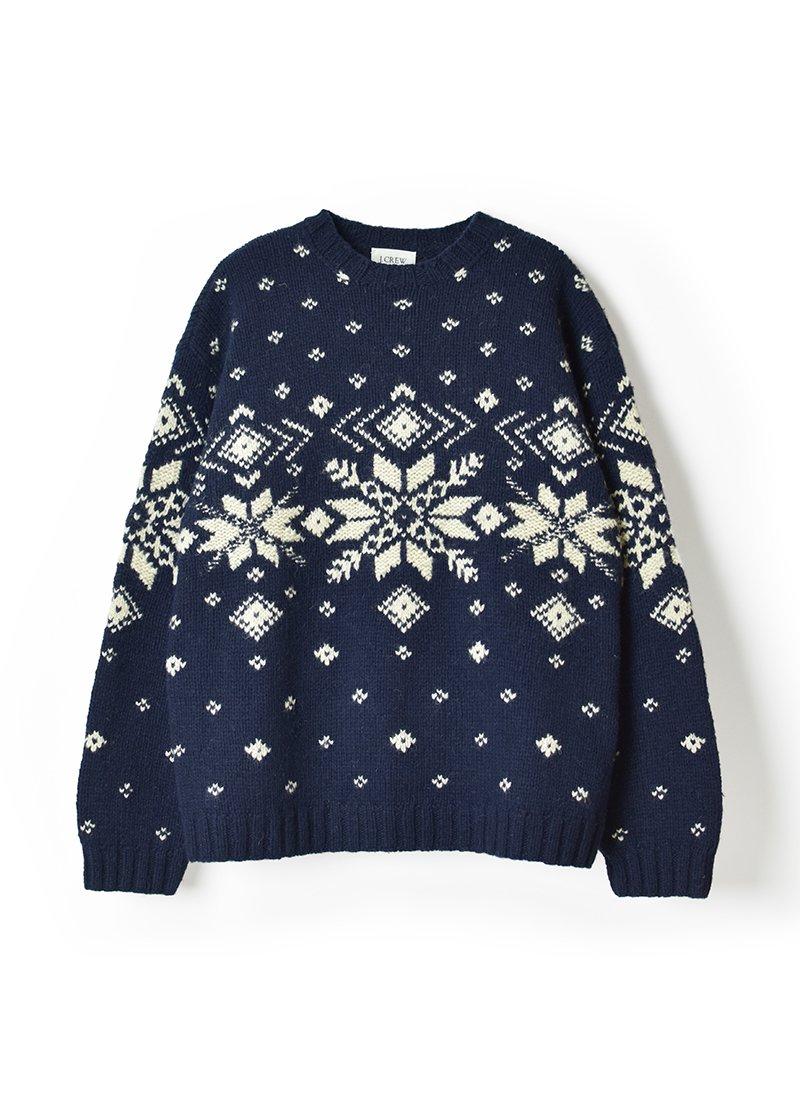 USED J.CREW Nordic Sweater