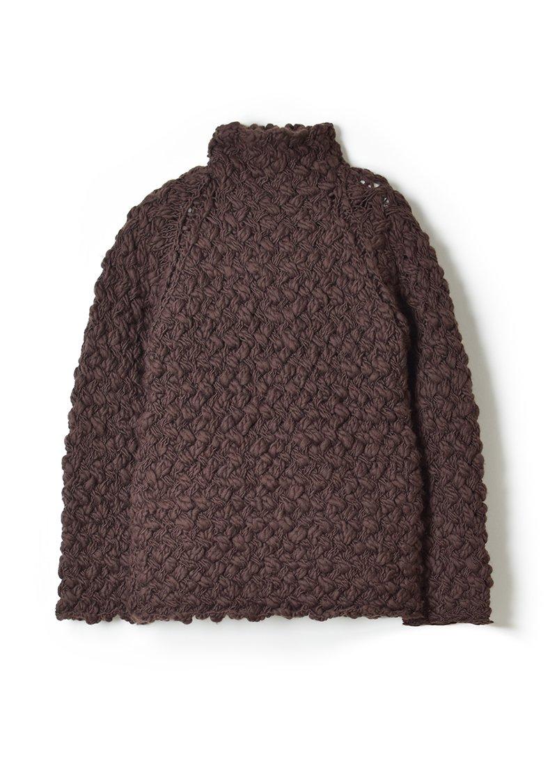 ARCHI Suna Knit Tirtle Top