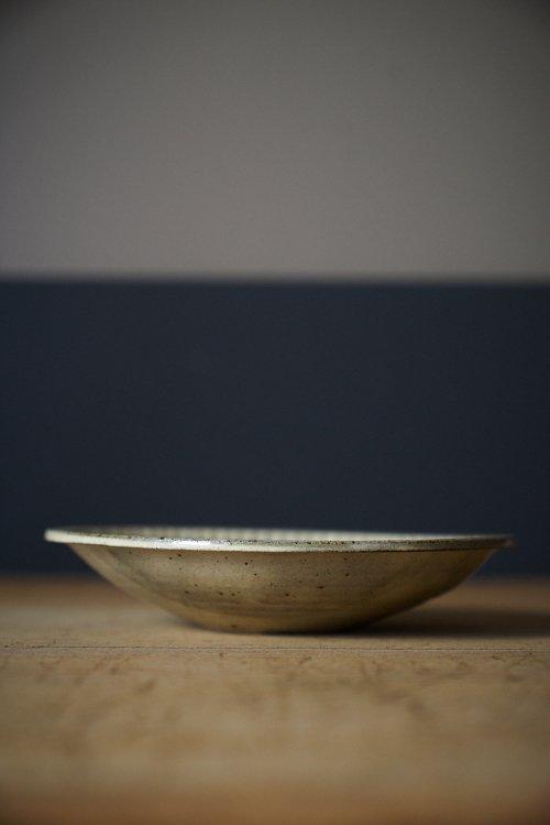 粉引鎬八寸鉢