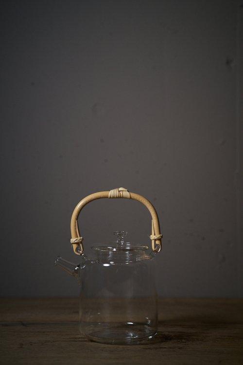 耐熱ガラスTeaPot(あけび)