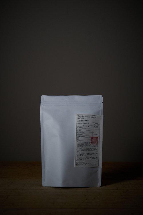 大豆と昆布の精進出汁