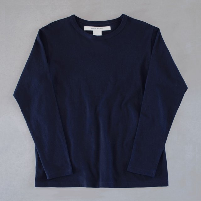 T-shirt 7.8oz solid long sleeve navy