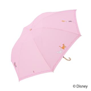 限定生産品 Disney ディズニー 『おしゃれキャット』デザイン 折りたたみ傘 婦人用 レディース 数量限定