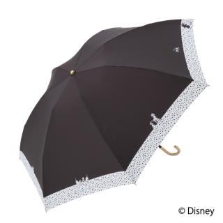 限定生産品 Disney ディズニー 『101匹わんちゃん』デザイン 折りたたみ傘 婦人用 レディース 数量限定