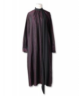 DOT BORDER DRESS