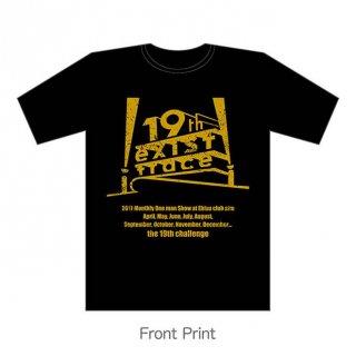 the 19th challenge (FOXパロディ) Tシャツ / ゴールド