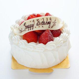 イチゴのデコレーションケーキ<br>5号