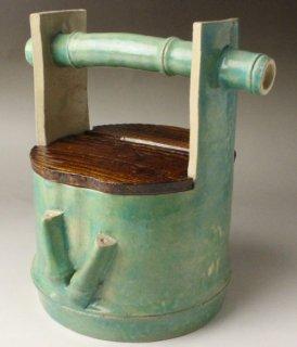 竹手樋水指 井上方竹 造
