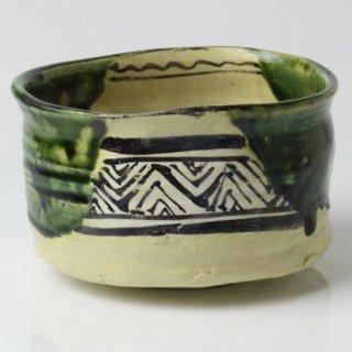 織部茶碗 加藤鈔 (しょう) 造