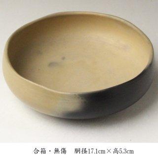 雲華灰器(風炉用)風炉師 松斎 造 合箱