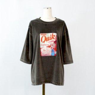 【50%OFF】 ヴィンテージパッチプリントTシャツ