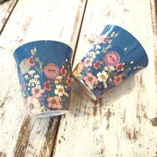 お花コラージュメラミンカップ