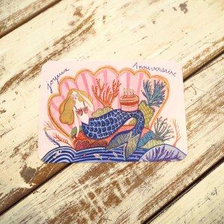 バースデーマーメイドポストカード