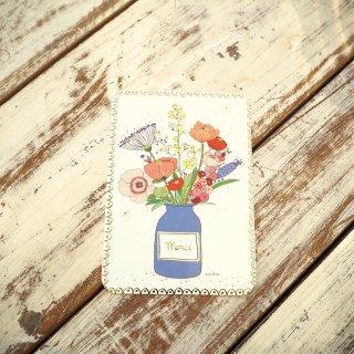 メルシーフラワーポストカード