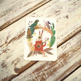 うさぎポストカード