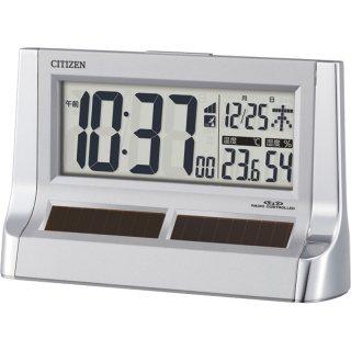 シチズン ソーラーパワーアシスト電波アラーム時計
