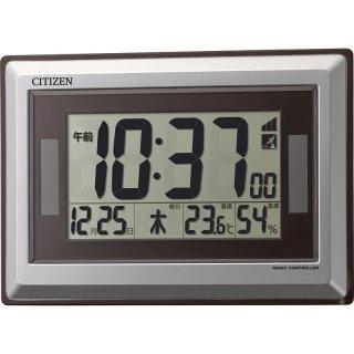 シチズン 温度・湿度表示ソーラー電源電波時計