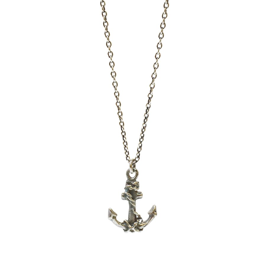 IDEALISM SOUND x EXTREME Anchor Necklace/SILVER