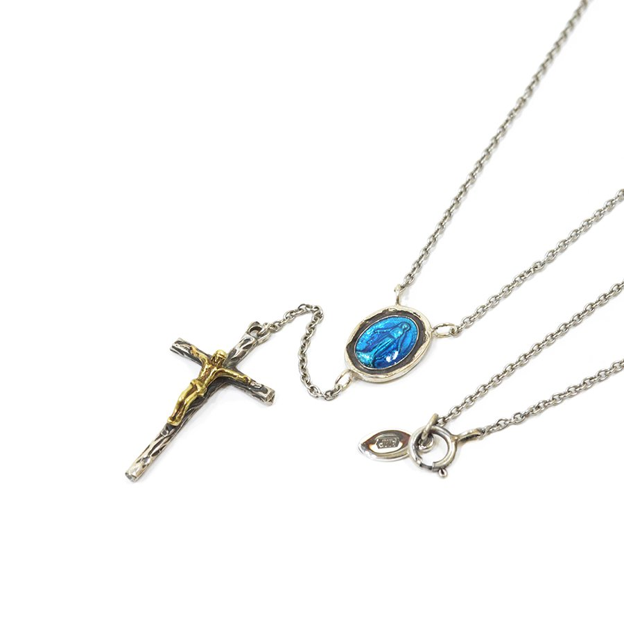 AMP JAPAN 14AH-140 epoxy medal rosary necklace